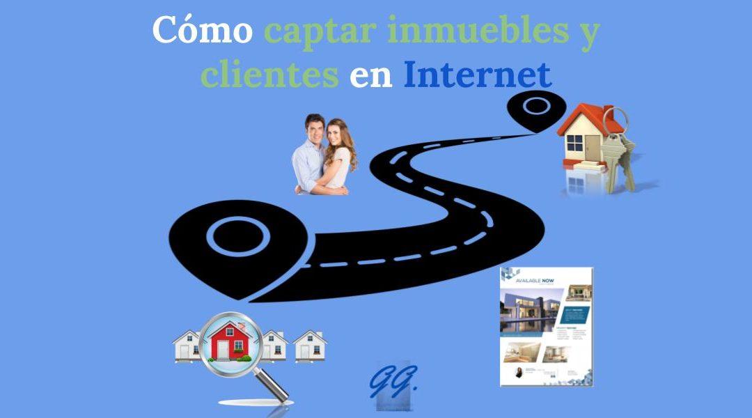como captar inmuebles y clientes en internet para inmobiliarias